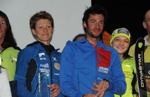 Kilian Jornet et Laetitia Roux décrochent le record officiel des Millet Ski Touring Courchevel 2014-2015