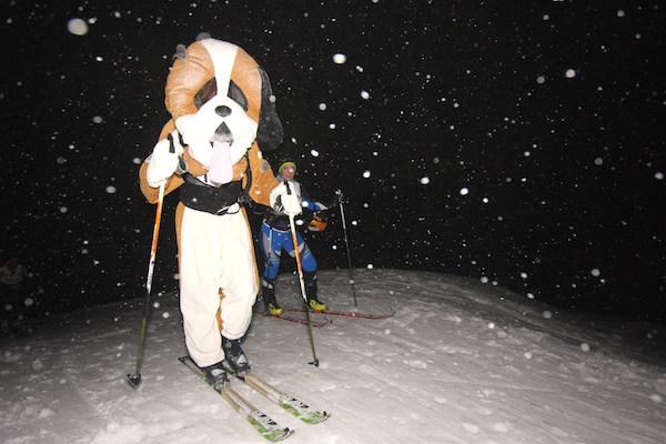 Le Saint Bernard - Millet Ski Toiring Courchevel 2015
