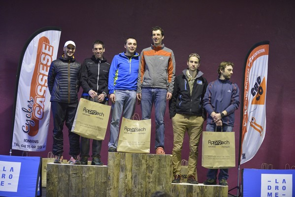 Raid des collines 2015 - podium