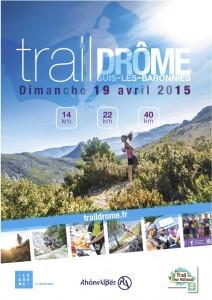 Trail Drome, 3 parcours au choix le 19 avril