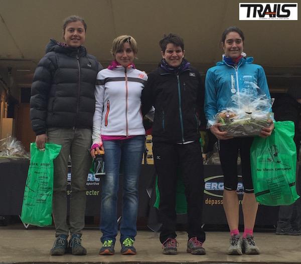 Trail du Ventoux 2015 - podium dames 24km