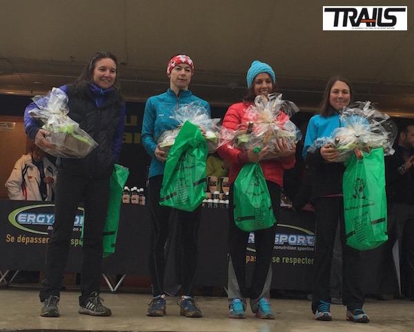 Trail du Ventoux 2015 - podium dames 40km