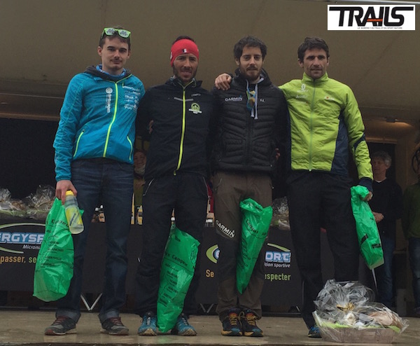 Trail du Ventoux 2015 - podium hommes 24km