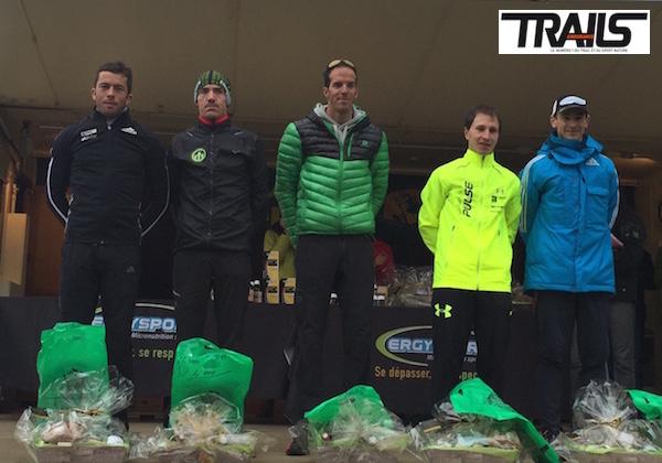 Trail du Ventoux 2015 - podium hommes 40km
