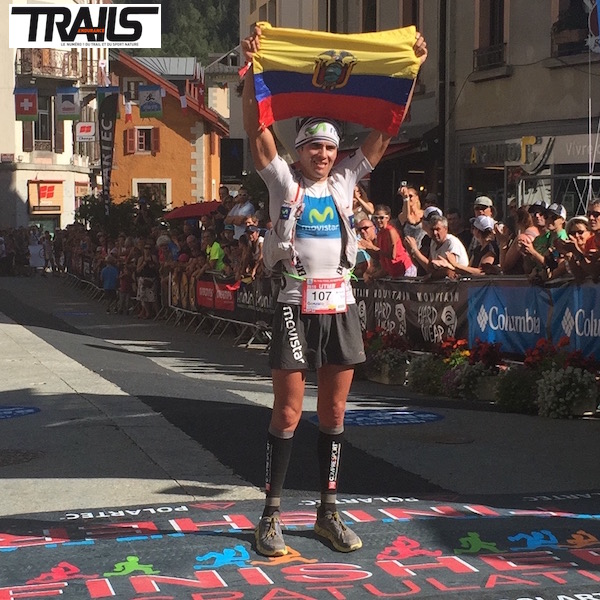 Gonzalo Calisto - UTMB 2015 - dopage