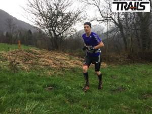 Trail des Glaisins 2015 - victoire de Aurélien Dunand Pallaz