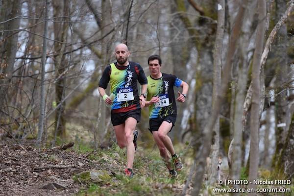 Trail du Vieil Armand 2015, Clement Posecak et Lucie Chainel s'imposent