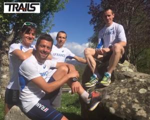 Julien Rancon, Seb Spehler, Sylvain Court et Maud Gobert