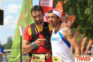 Championnats du Monde de Trail 2015 - Luis Alberto Hernando et Sylvain Court