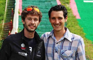 Thibaut Baronian et Thomas Lorblanchet photo Goran Mojicevic Passion Trail