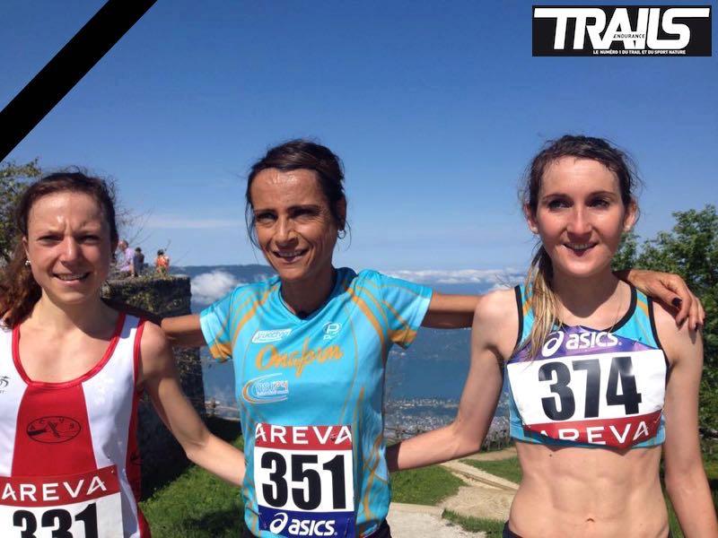 Championnat de France de course en montagne 2015 - podium dames