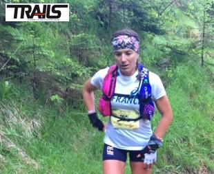 Maud Gobert - Championnats du Monde de Trail 2015