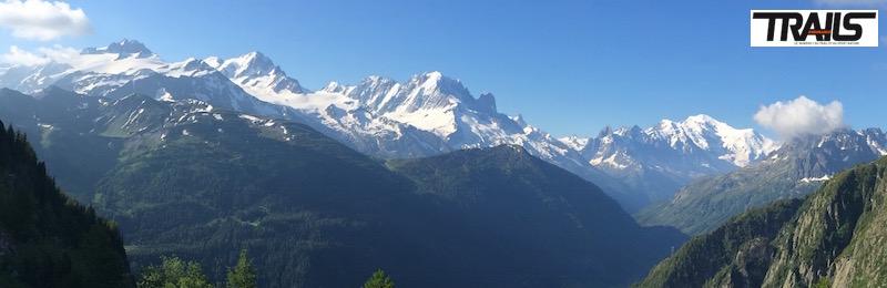 Panorama du 80km du Mont-Blanc