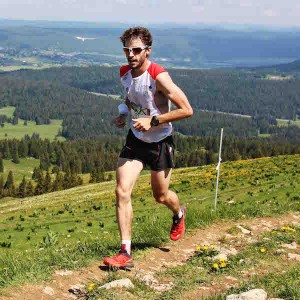 Thibaut Baronian vainqueur du 36 km  photo Goran Mojicevic Passion Trail