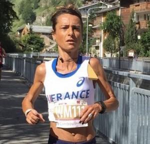 Aline Camboulives, 2nde des Championnats du Monde de course en montagne longue distance 2015