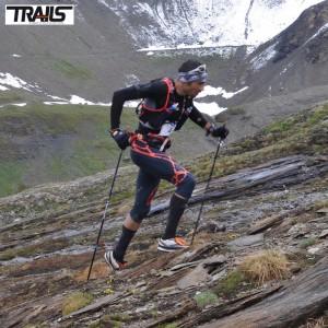 Ice Trail Tarentaise 2014 - Luis Alberto Hernando