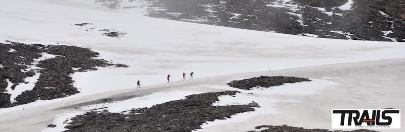 Ice Trail Tarentaise 2015 - tunnel