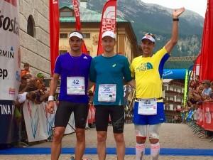 Lavaredo Ultra Trail 2015 - Podium hommes 2015