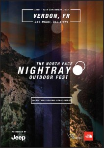 The North Face Night Ray Outdoor Fest 2015