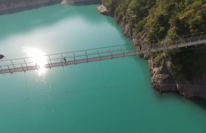 Video trail des passerelles du Monteynard 2015