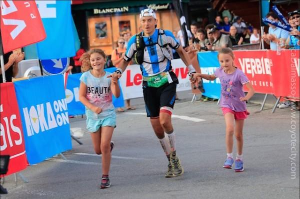 Arnaud Lejeune vainqueur du Trail Verbier 2015