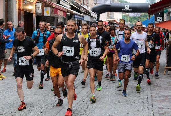 7 Ubaye Trail Salomon 2015 depart 25 km - photo Robert Goin