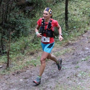 Melanie Rousset - vainqueur du 42 km photo Robert Goin