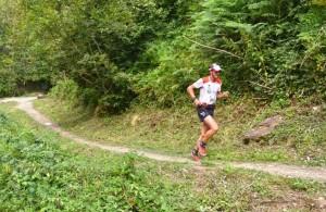 Michel Lanne 1er marathon Montcalm 2015 photo JMK Consult