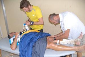 Pascal Blanc - Record GR5 2015 - assistance médicale