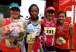 Sierre Zinal 2015 - podium femmes