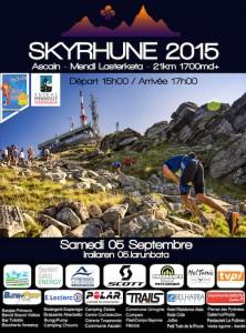 AFFICHE SKYRHUNE 2015