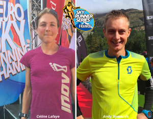 Andy Symonds et Celine Lafaye lauréats des Salomon Skyrunners France Series 2015