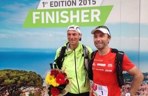 Ecotrail Funchal Madeira 2015 - Arnaud Lejeune et Fabien Antolinos