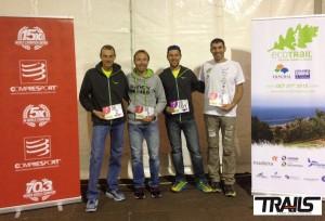 Ecotrail funchal Madeira 2015 - Arnaud lejeune, Fabien Antolinos et Julien Chorier