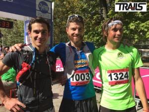 Gapencimes 2015 - Fred Bousseau - podium hommes 55 km