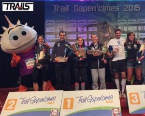 Gapencimes 2015 - Fred Bousseau - podium 25km