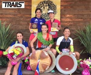 Templiers 2015 - Top 5 dames