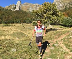 Thierry Breuil - Championnat de France de Trail 2015