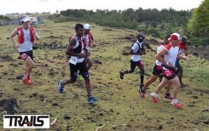 Trail de Rodrigues 2015 - Ryan Sandes et Laurid Flore