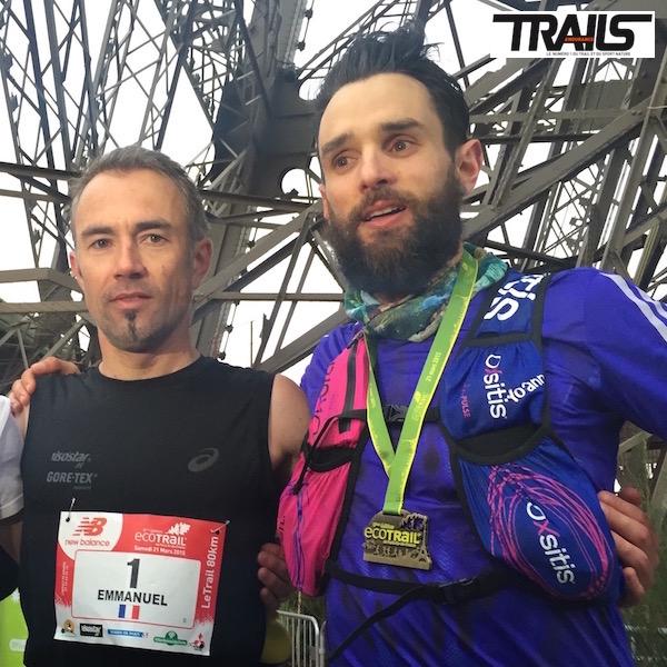 Ecotrail de Paris - Manu Gault et Yoann Stuck