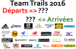 Teams Trails 2016