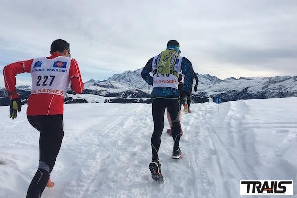 Trail de Noël 2015 Les Saisies - Fred Bousseau