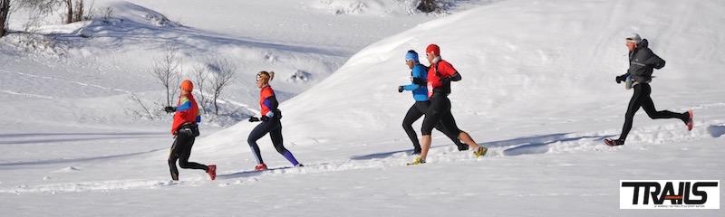 les trails blancs et trails sur neige 2016