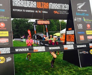 Fiona haywice - Tarawera Ultramarathon 2016