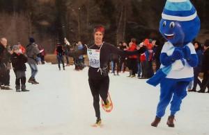 Stephane Ricard - Champion du Monde de Raquettes a neige