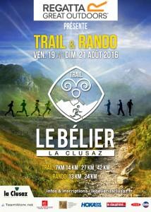 Trail le Belier - La Clusaz