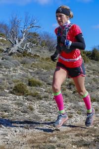 Amandine FERRATO - vainqueur du 25km de la Sainte Beaume 2016