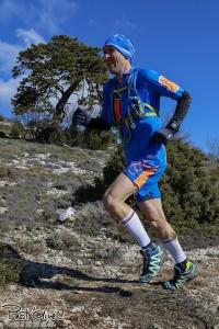 Bertrand BROCHOT-vainqueur Trail de la Sainte Beaume 2016