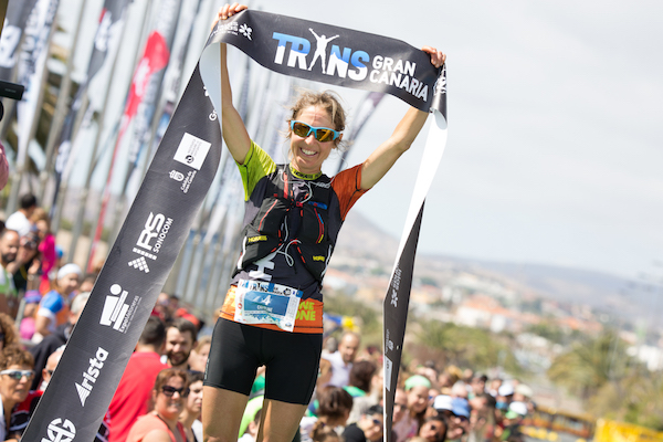 Caroline Chaverot - vainqueur Transgrancanaria HG 2016