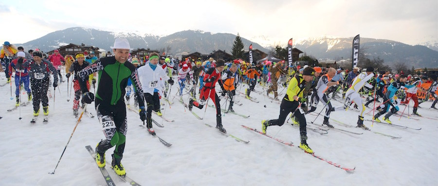 Depart Millet Ski Touring Courchevel